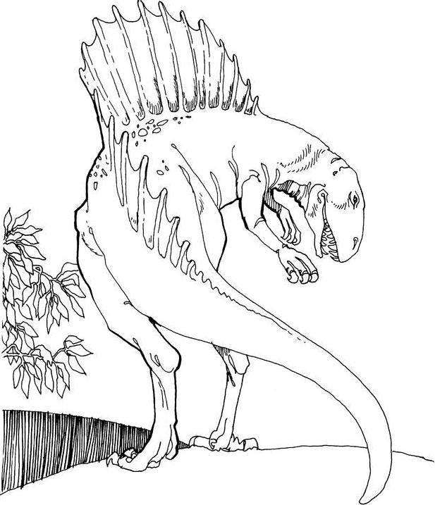 spinosaurus dinosaurs spinosauruscoloring - Spinosaurus Coloring Pages Printable