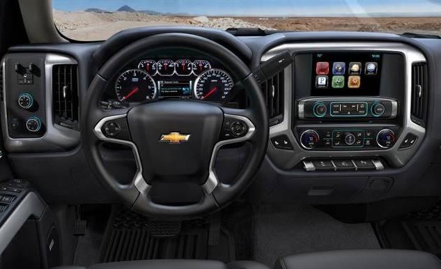 2017 Chevrolet Silverado 1500 Specs