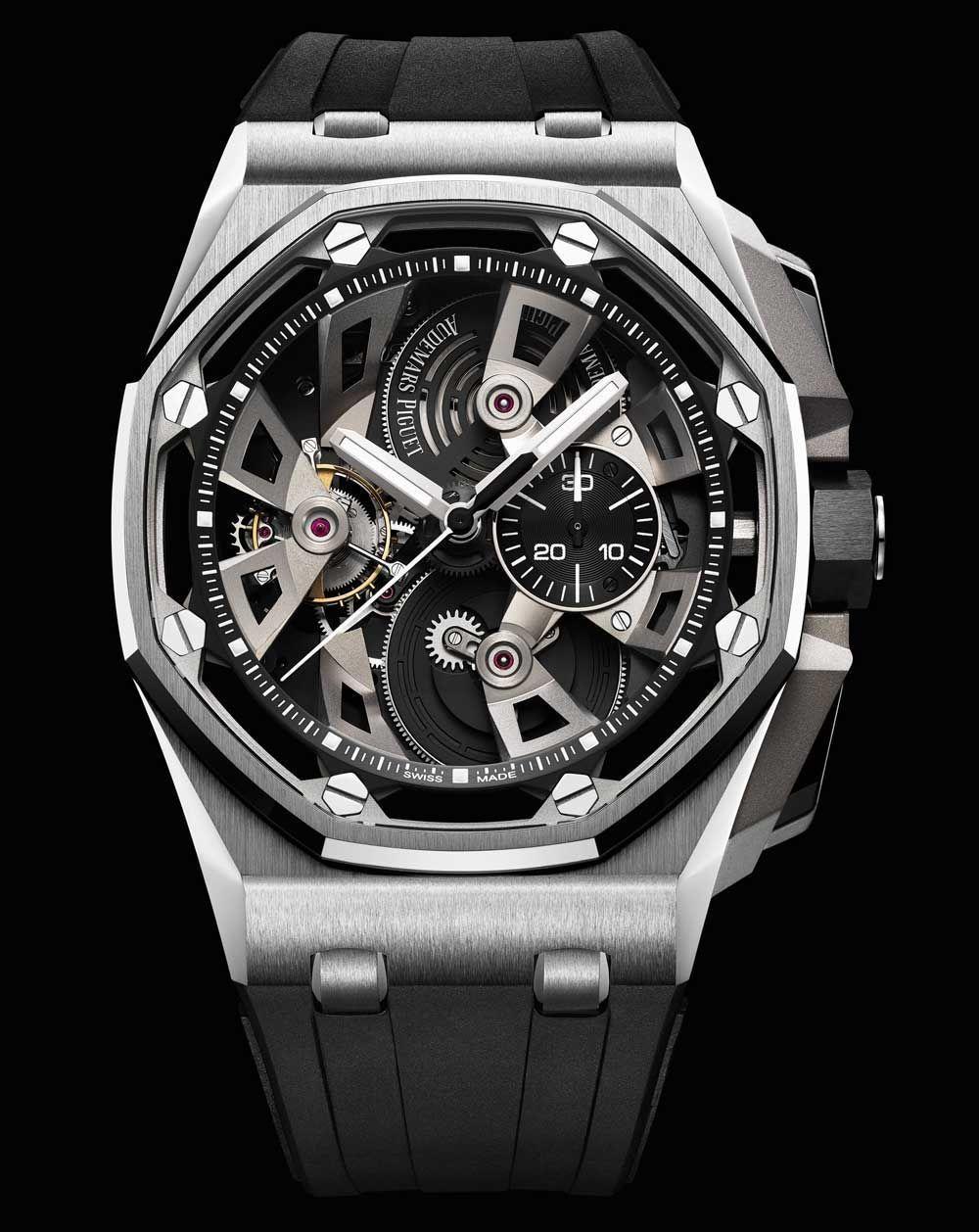 1a5c3dc4a222 Audemars Piguet Royal Oak Offshore Tourbillon Chronograph 25th Anniversary  Watch Watch Releases
