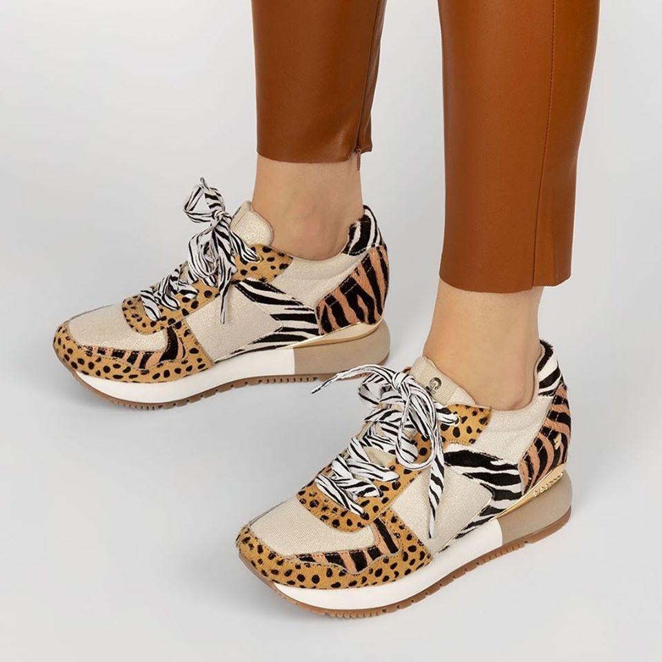 Sneaker animal print Gioseppo Bikaner 58647   Gioseppo, Zapatillas, Bolsa  para zapatos