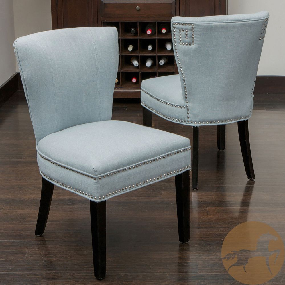 Dining Chairs Deals: Christopher Knight Home Jackie Ocean Blue Accent Dining