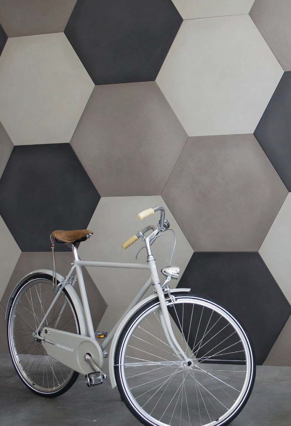 Cement wallfloor tiles cemento14 esagoni cemento14 collection by cement wallfloor tiles cemento14 esagoni cemento14 collection by 14oraitaliana dailygadgetfo Images