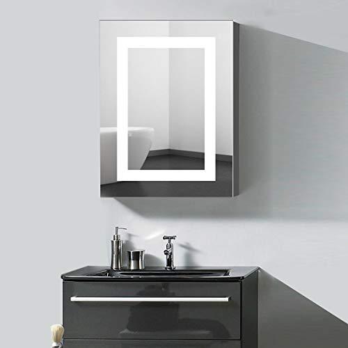 24 X 32 Led Lighted Bathroom Medicine Cabinet Illuminated Wall Mountbest Offer Storagevat Com In 2020 Mirror Cabinets Mirror Wall Bathroom Adjustable Shelving