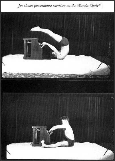 Joseph Pilates Showcasing The Use Of Wunda Chair Pilates History Photography Joseph Hubertus Pilates Pilates