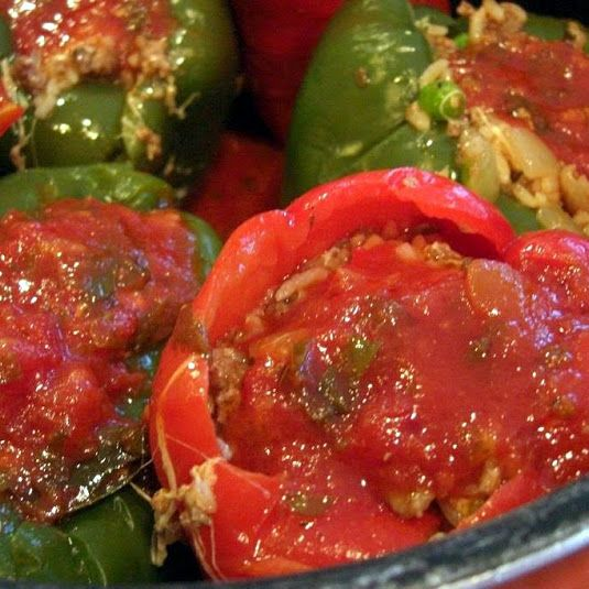 Stove Top Stuffed Peppers Recipe Recipe Stuffed Peppers Recipes Peppers Recipes