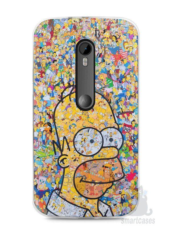 d86797ac84a Capa Moto G3 Homer Simpson Comic Books - SmartCases - Acessórios para  celulares e tablets :)