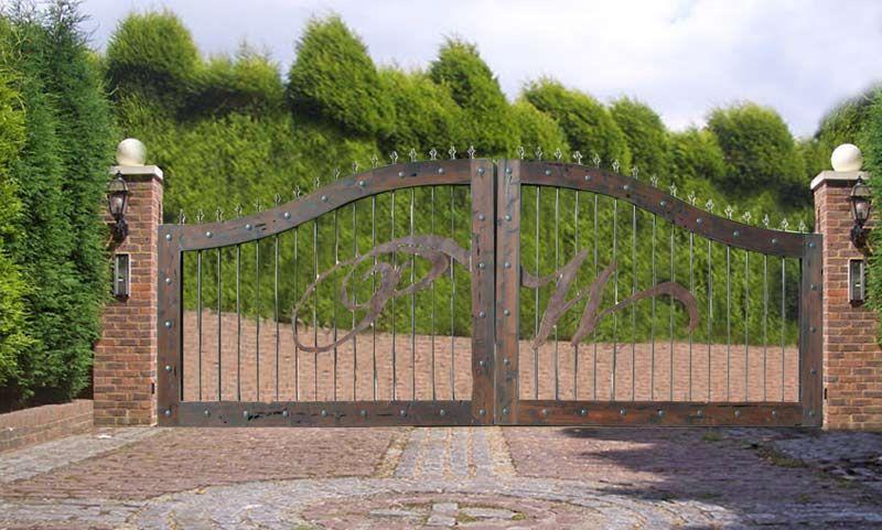 Ranch Entry Gates Home Gates Gates Wood Entry