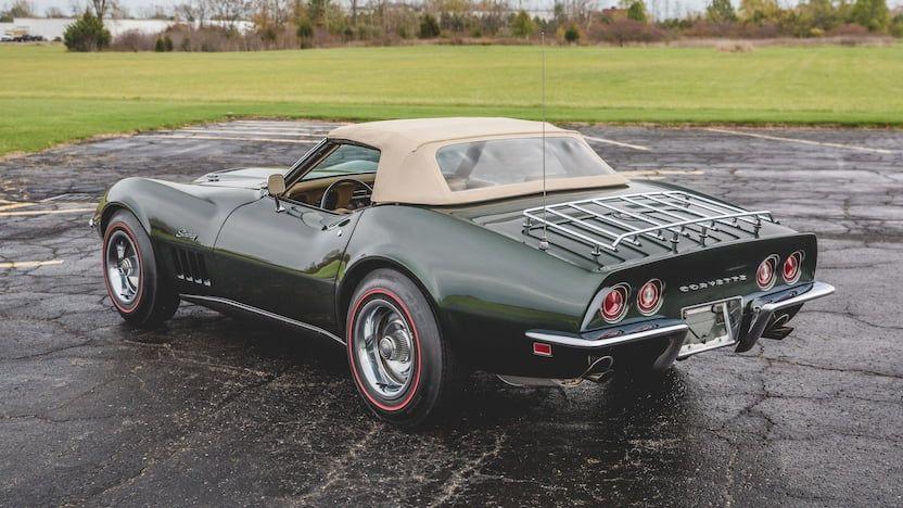 1969 Chevrolet Corvette Convertible 13 Corvette Convertible