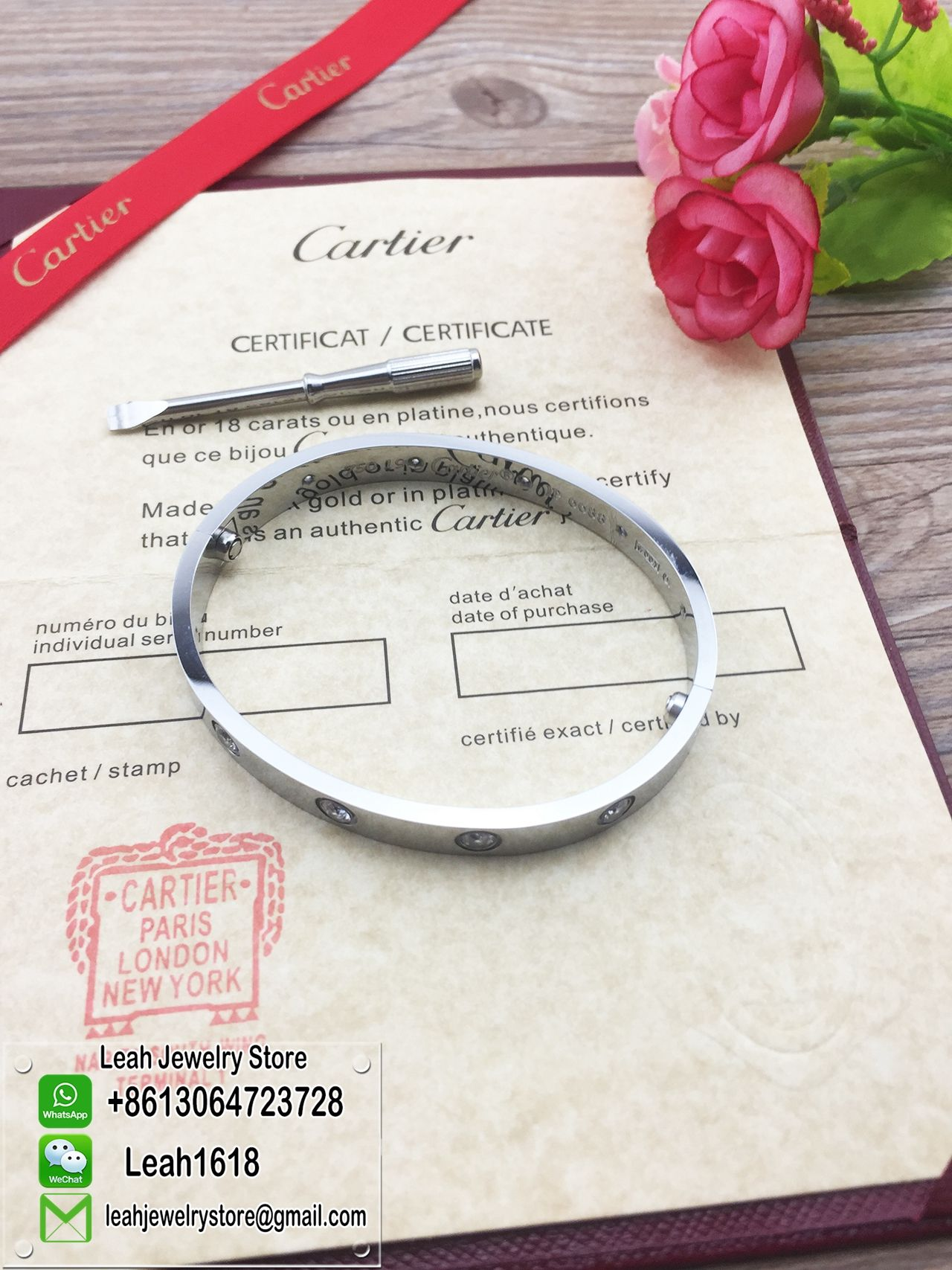 Cartier LOVE Bracelet And Ring In Ourcartierstorecn BUY 1 GET FREEFree Global Shippingmore