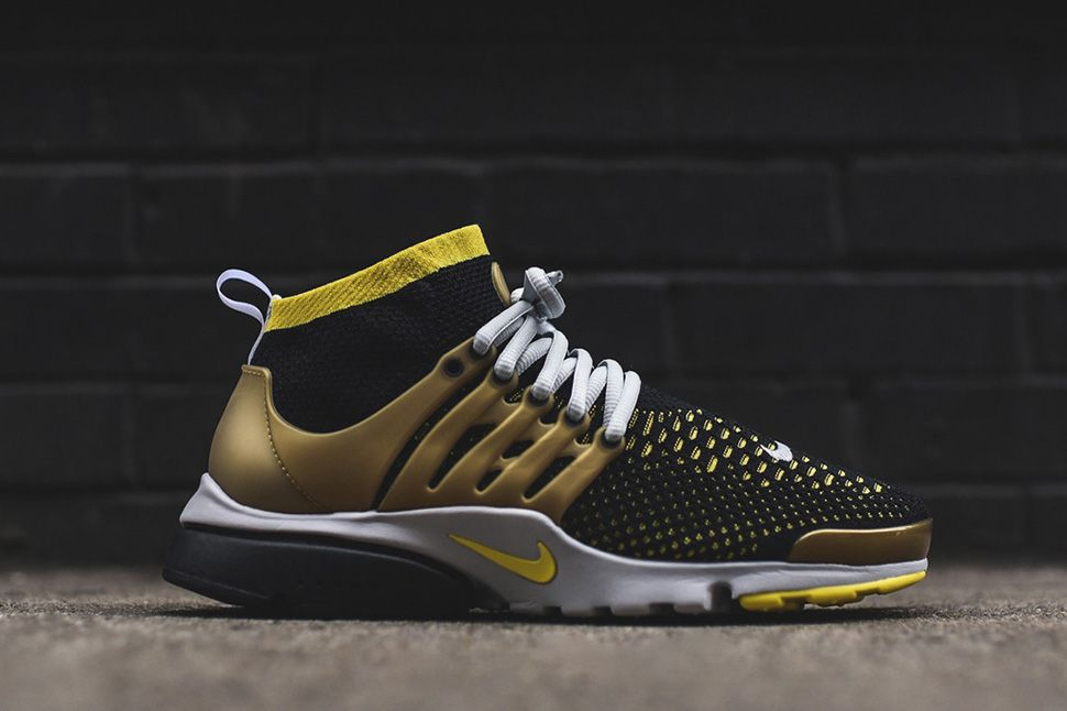 A Black & Yellow Nike Air Presto Ultra Flyknit | Sneakers
