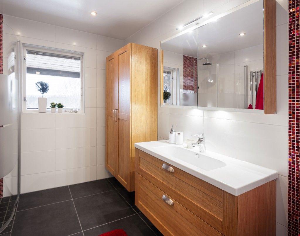 Miller London 100 Cm Vanity In Natural Oak Bathroom Cabinet With