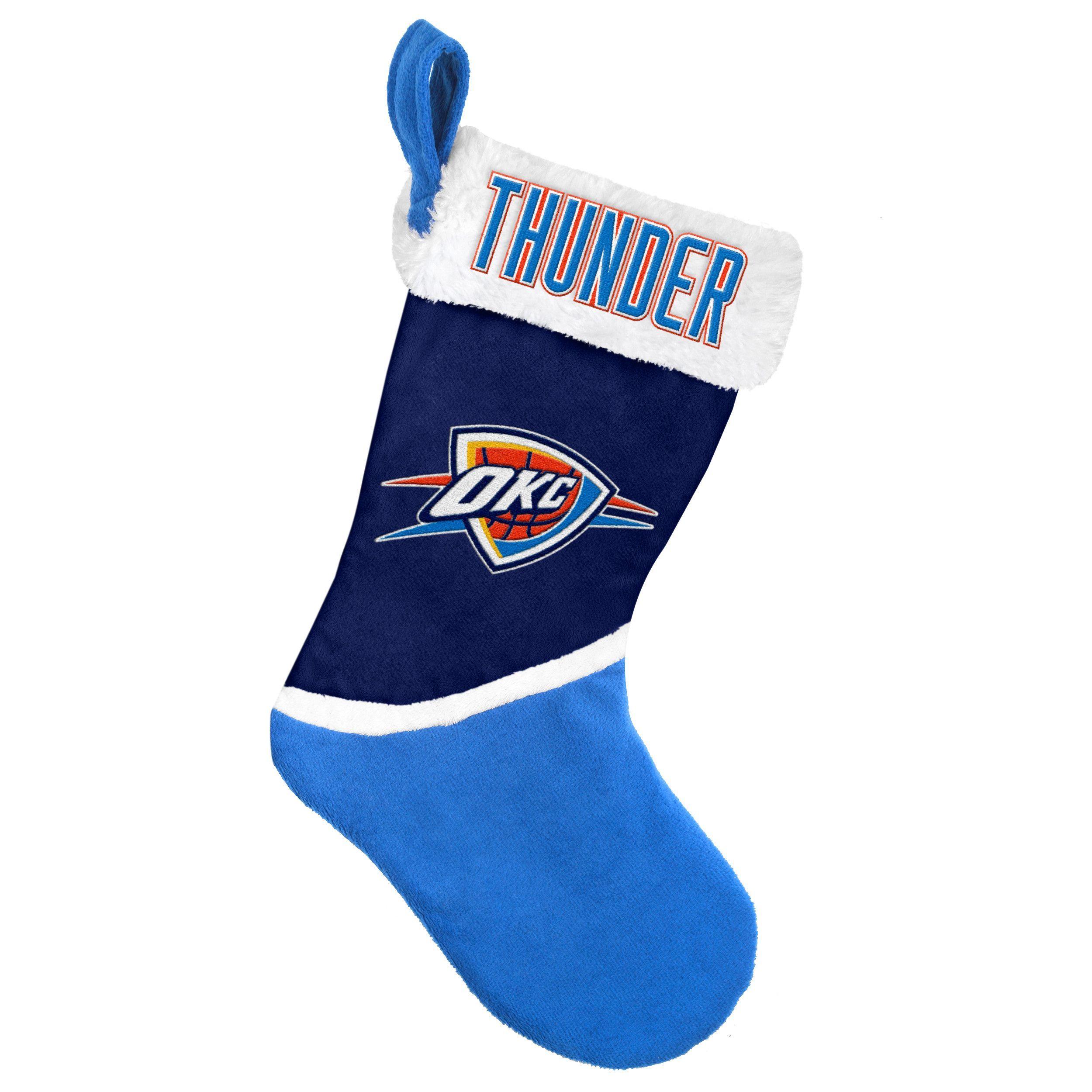 Oklahoma City Thunder Basic Holiday Stocking - 2015
