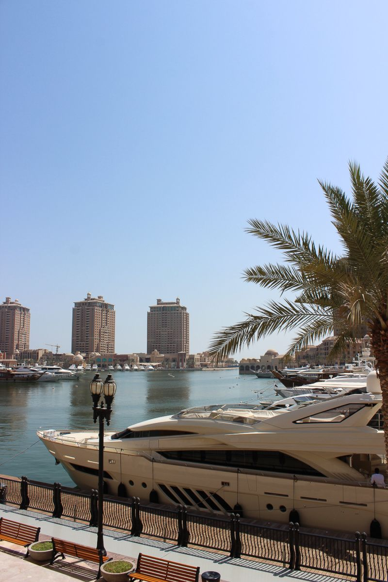 The Ultimate Luxury Layover, Doha, Qatar - Clutch & Carry-On