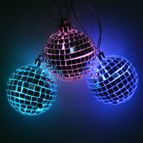 Led Color Changing Disco Balls So Many Possibilities Bee Gee S Retro Party Dancing With The Stars Etc Color Changing Led Party Lights Novelty Lights