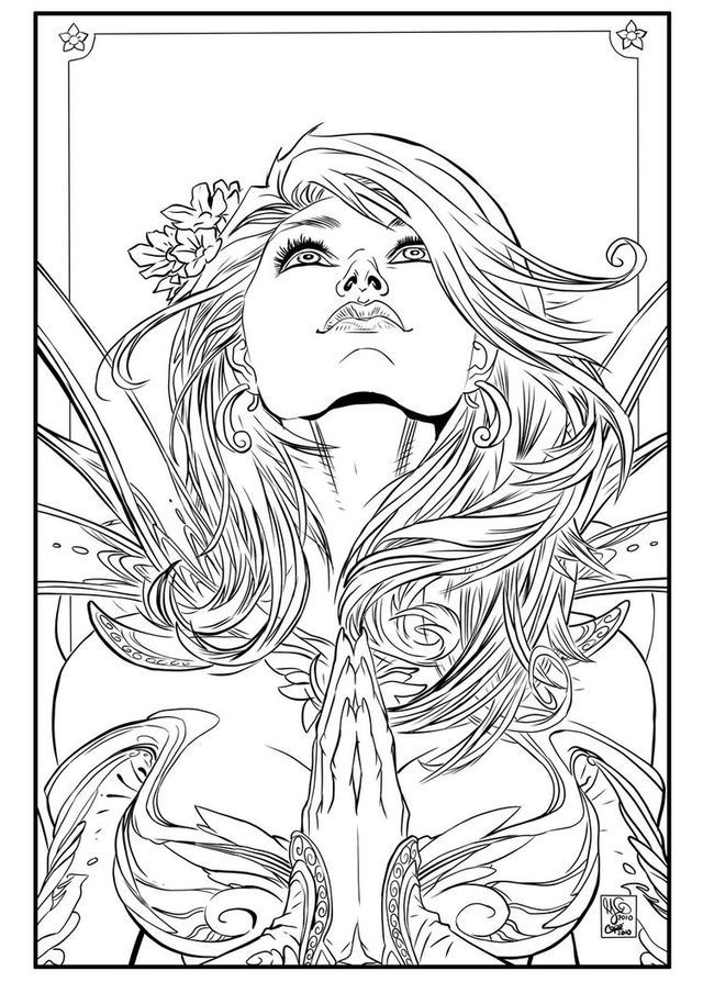 Pin de ÆLLA en Coloring Pages | Pinterest | Colorear, Máscaras y Rostros