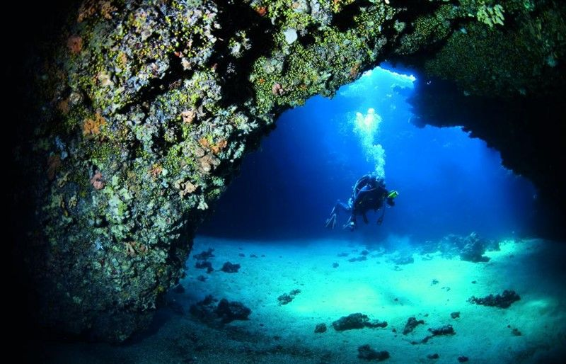 Premuda - Diving In Blue Cathedral Cave
