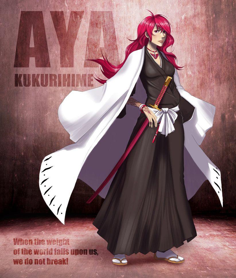 Naruto Oc Aya By Minamino18sayuri On Deviantart: First Division Captain: Aya Kukurihime By Xenethis-Chimera