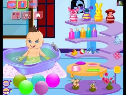babies play games online with