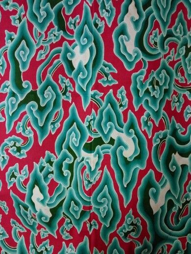Apa Yang Dimaksud Batik Motif Mega Mendung - Batik Indonesia