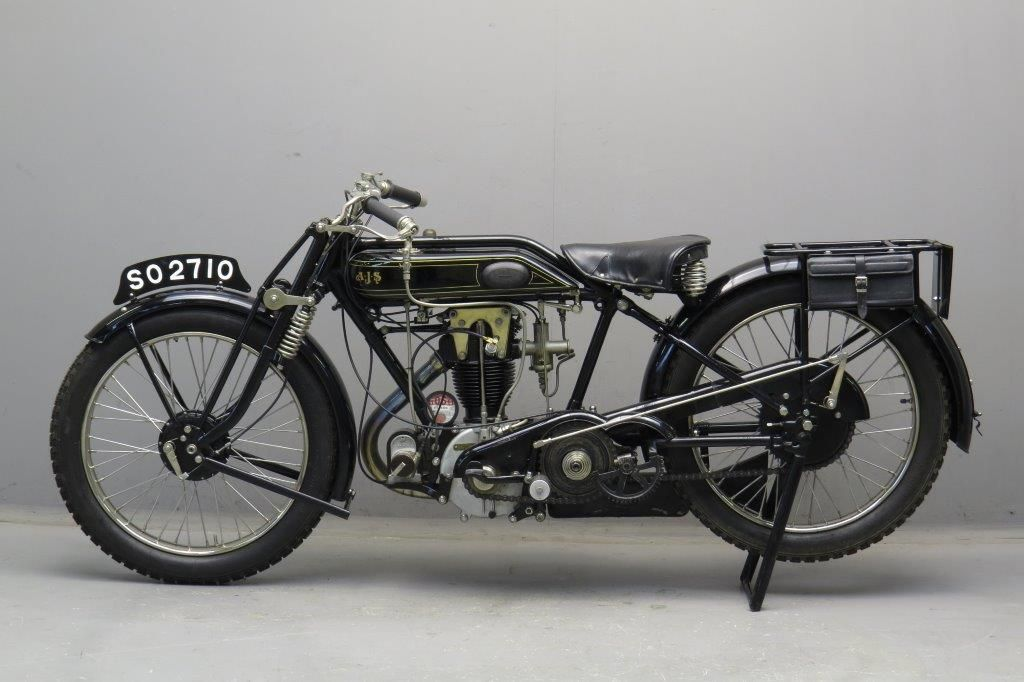 Ajs 1926 G8 500cc Lovely Bike I Restored A 1927 Model Vintage Bikes Classic Motorcycles British Motorcycles
