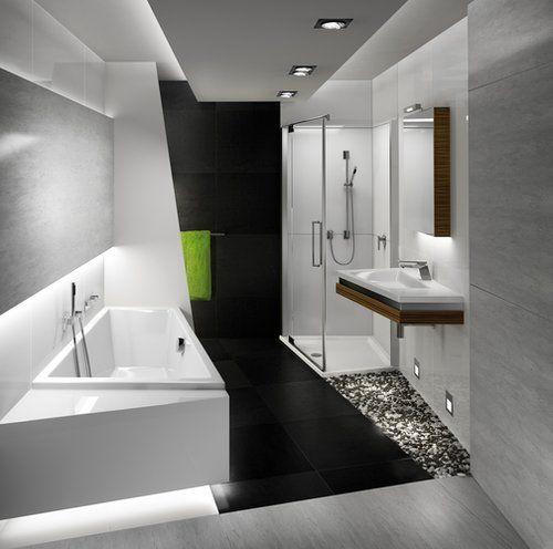 Egal ob das Bad klein und verwinkelt oder großzügig und offen ist ...