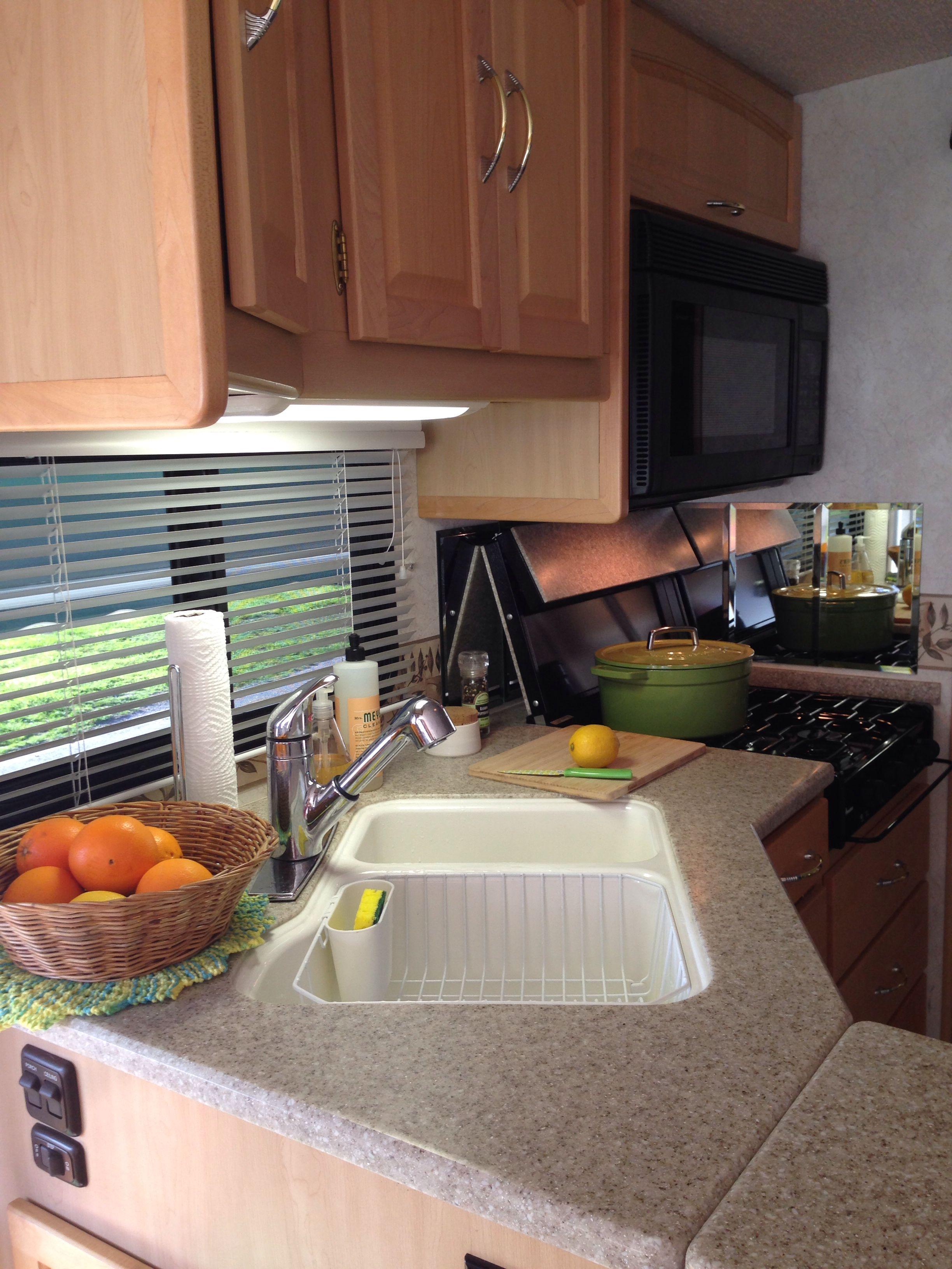 Our little RV kitchen
