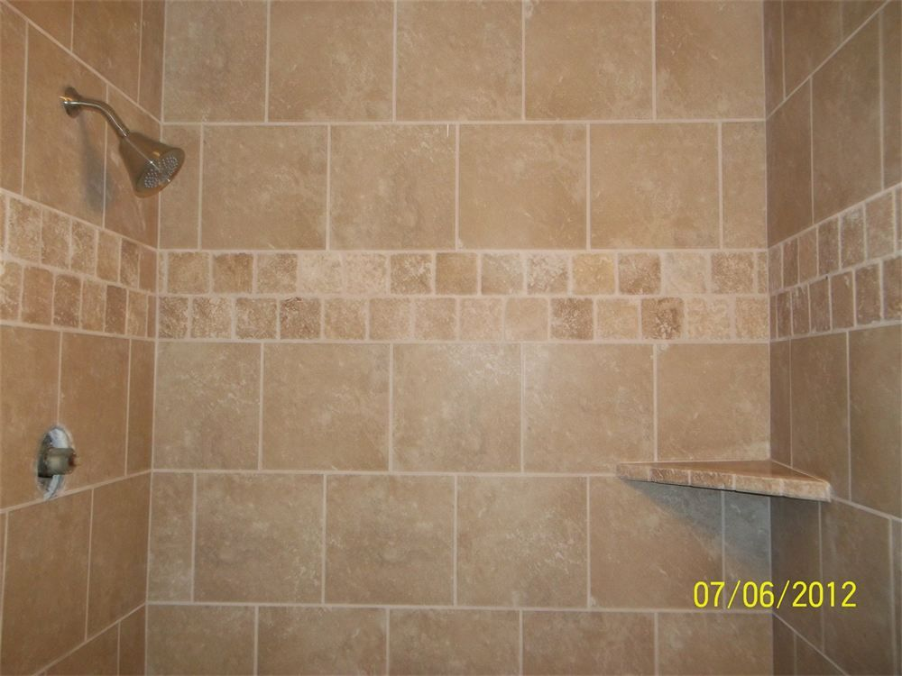 Laying 12x12 Tiles In Subway Pattern Shower Tile Bathroom Shower Tile Shower Tile Patterns