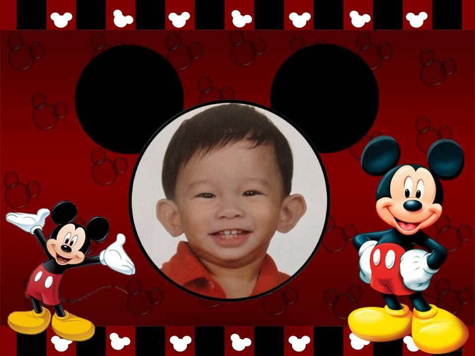 Tarp Background Mickey Mouse