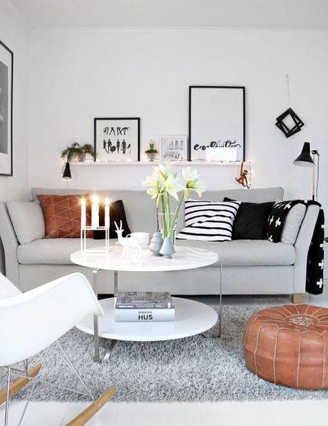 Pinannika Mullins On Apartment  Pinterest  Apartments Delectable Design Ideas For A Small Living Room 2018