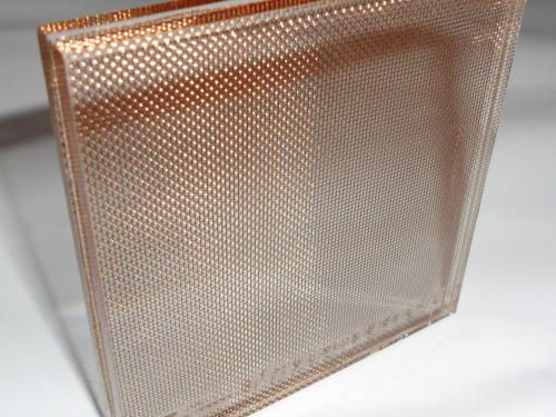 Maxlen Visus Mesh Laminated Glass Glass Laminated Sefar