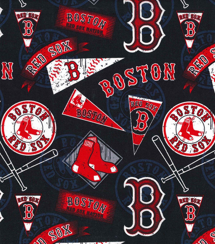 Boston Red Sox Cotton Fabric Vintage Joann Medias Rojas De Boston Logotipos Vintage Fotos De Beisbol Boston red sox iphone 11 wallpaper