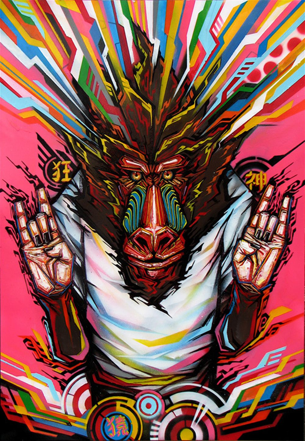 Kenta Torii. Hiroshima, Japón. 1983. Pintor autodidacta con 10 años de trayectoria. Reside en la Ciudad de México desde hace cuatro años. Ha presentado su trabajo en diversas galerías, espacios púb…