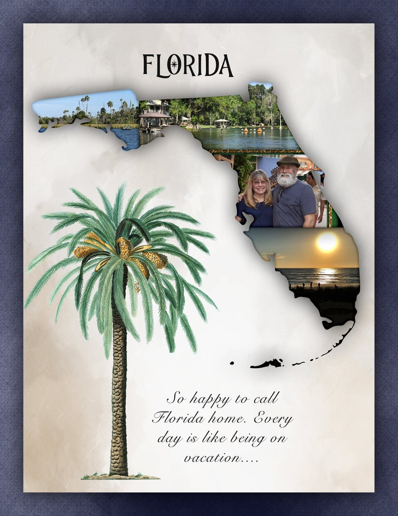 The Beauty of Florida Scrapbook Page Kit