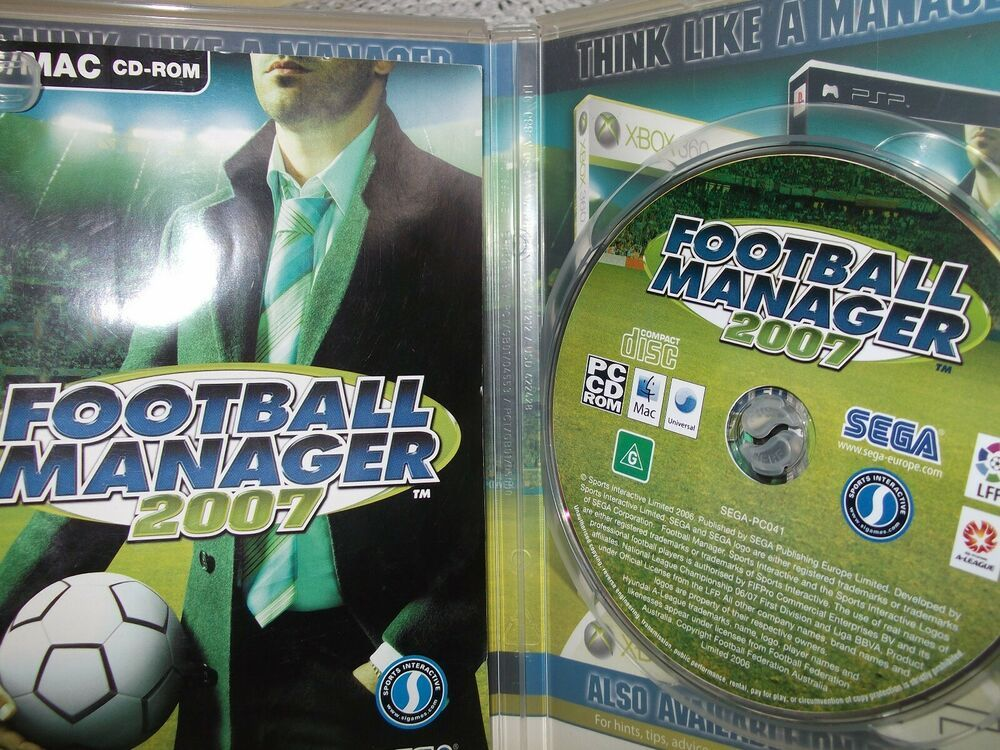 Details about Football Manager 2007 (PC Mac and PC, 2006