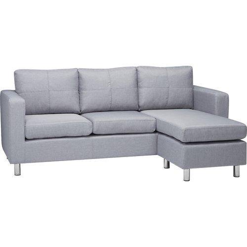 Zipcode Design Ackland Reversible Corner Sofa Corner Sofa Modular Corner Sofa Small Corner Sofa