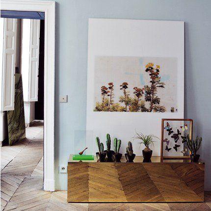 tendance d co le retour de la d co color e des ann es 50 home pinterest appartement. Black Bedroom Furniture Sets. Home Design Ideas