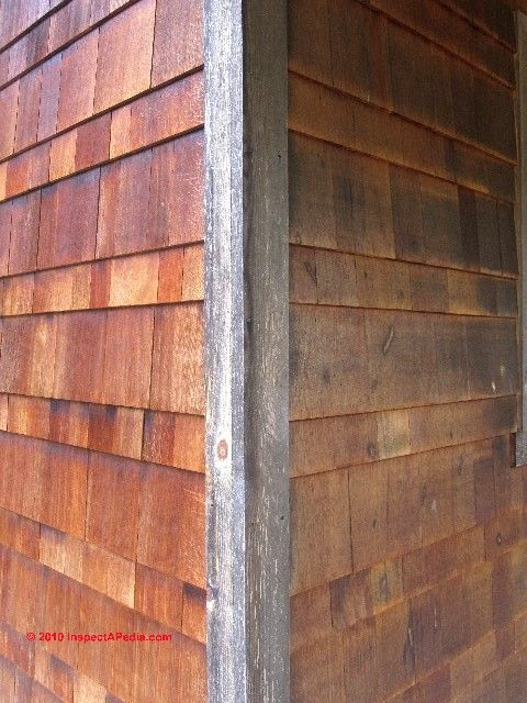Wood Siding Corner Details C Daniel Friedman Paul Galow