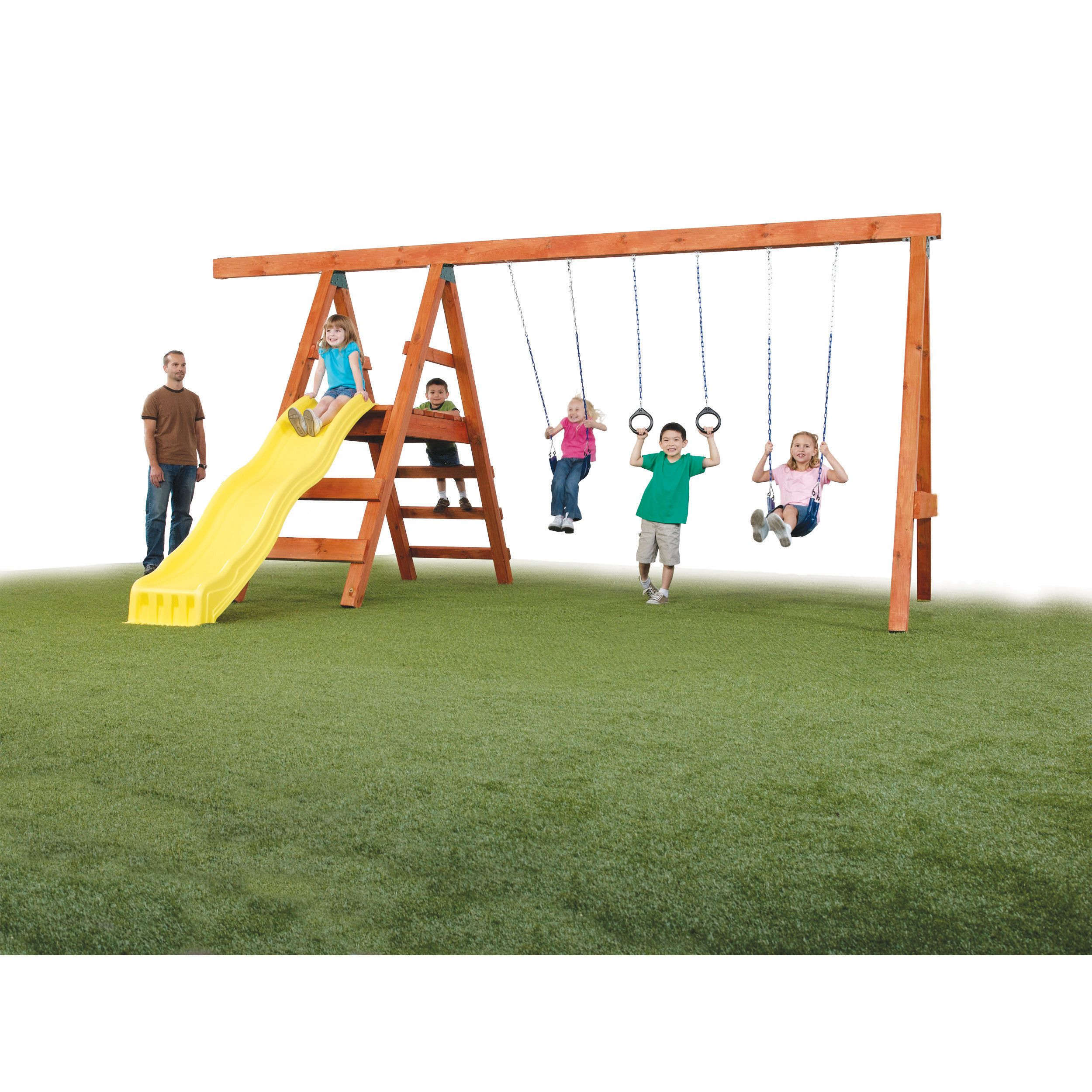 Swing N Slide Ready To Build Custom Pioneer Diy Swing Set Hardware