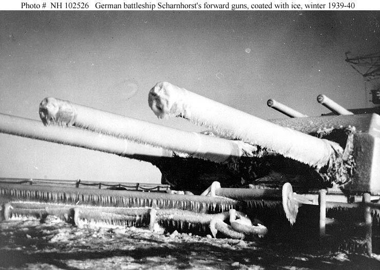 Scharnhorst 1939-40