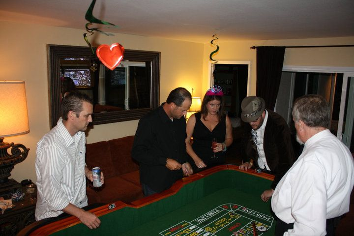 Sadie In Her Birthday Hat At A Casino Party California Casino Party Rentals By Dads Poker Night Casino Party Best Casino Poker Night