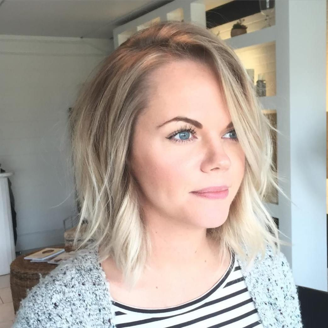 70 Devastatingly Cool Haircuts For Thin Hair Blonde Bobs Bobs And