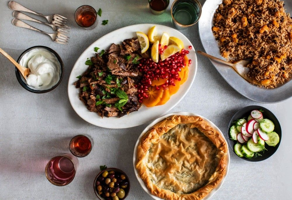 the Mood for Turkish Food  The New York Times  Menus In the Mood for Turkish Food  The New York Times  Menus  Cast Iron Peach Crostata Recipe Two Bite Crostini Party Idea...