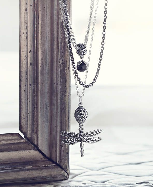 b97b75b699fb8 Pandora Dragonfly Pendant / Necklaces & Chains | PASSIONATE FOR ...