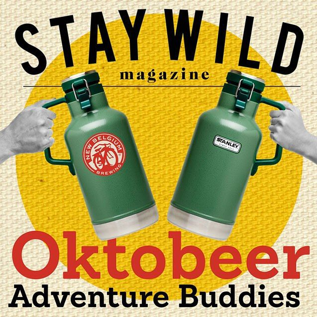 REMINDER  The world's largest beer celebration continues. This Oktoberfest we've partnered with @newbelgium and @staywildmagazine to deliver the gear for your adventures this fall.  To win tag a friend and share below what adventure you'll be taking your growler on.  6 winners will be selected on the last day of Oktoberfest October 4 at 12pm PST (U.S. entries only). #stanleyness #staywild #newbelgium by stanley_brand http://bit.ly/1JzniQi