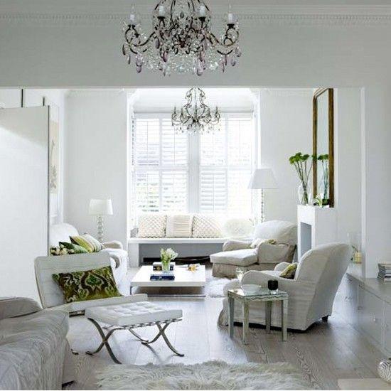 wei ruhigen wohnzimmer wohnideen living ideas interiors decoration wohnideen in weiss. Black Bedroom Furniture Sets. Home Design Ideas
