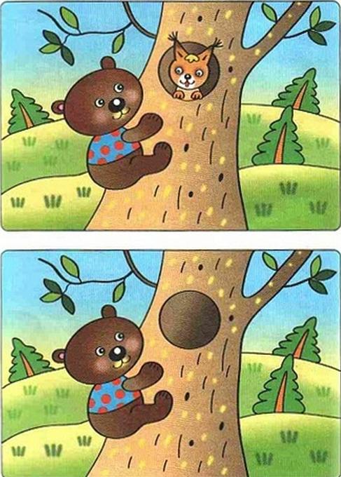 картинки для детей найди отличия (2) (487x680, 897Kb ...