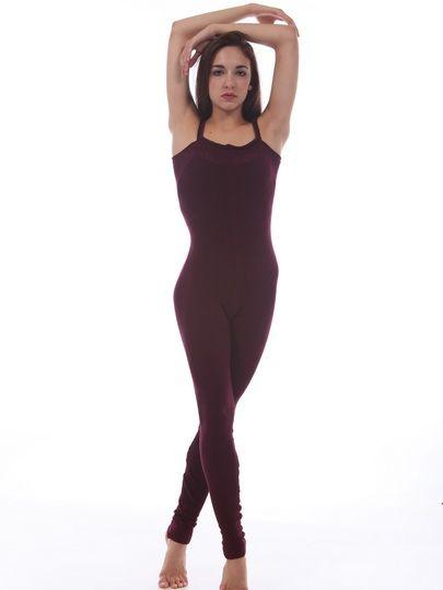 Mock Rib Stretch Cotton Camisole Bodysuit