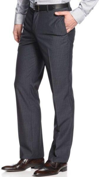 INC International Concepts dress Pants London striped men's size ...