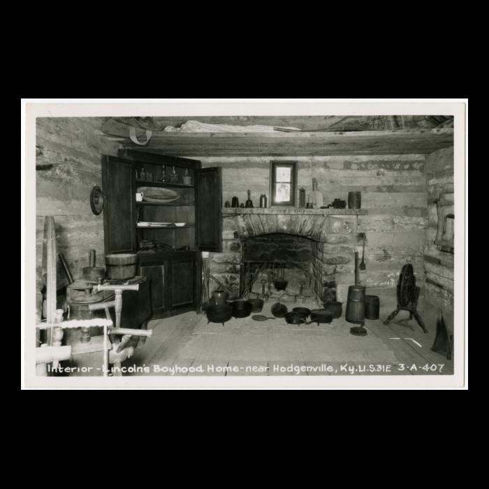 Interior Lincoln S Boyhood Home Near Hodgenville Kentucky Kentucky Lincoln Financial Lincoln