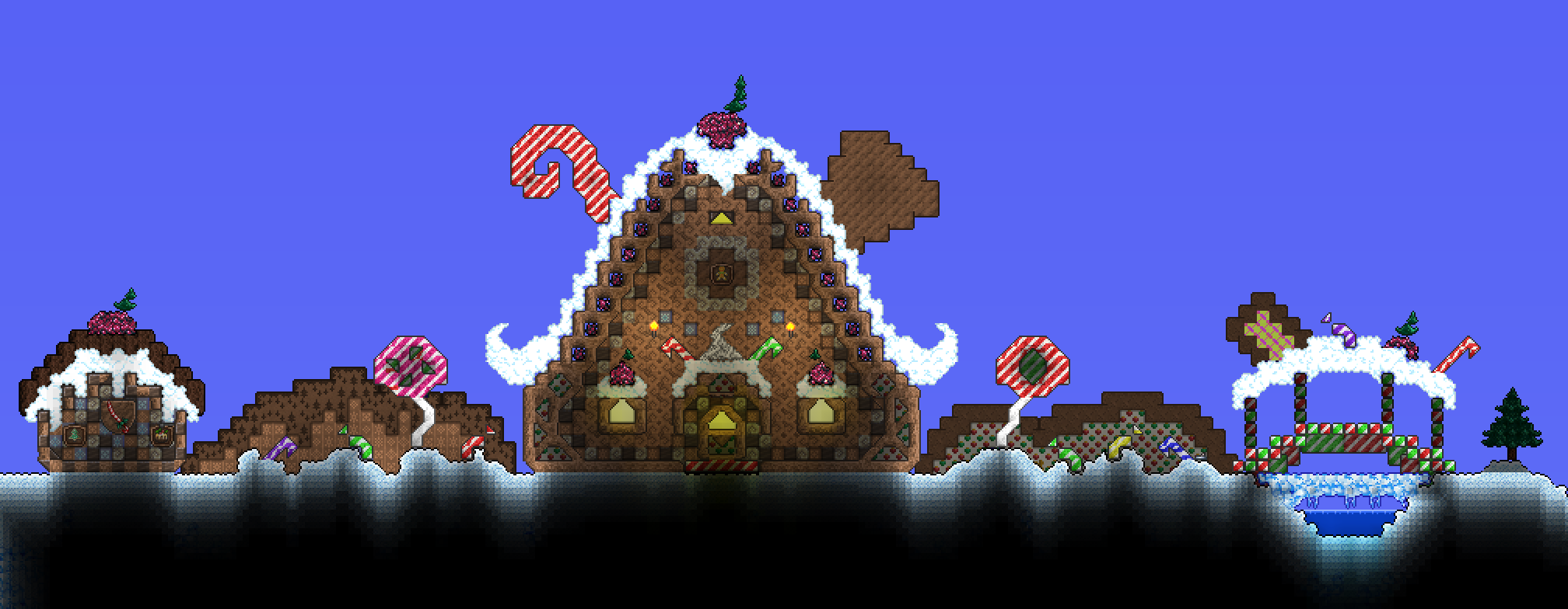Terraria Christmas House.Pin On Terraria Sigh I Know